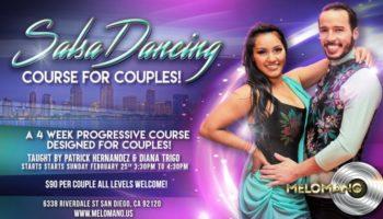 Couples Salsa Dance Course