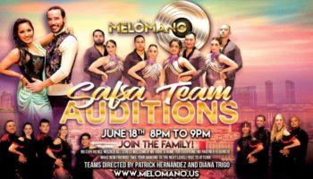 Melómano Salsa Team Auditions!