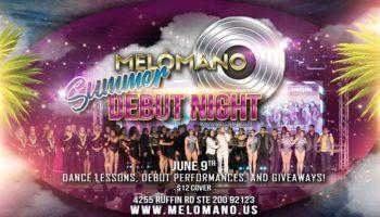 Melómano Debut Night!