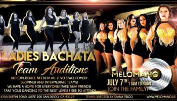 Melómano Ladies Bachata Auditions!