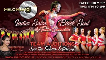 Melómano and Black Soul Ladies Salsa Auditions!