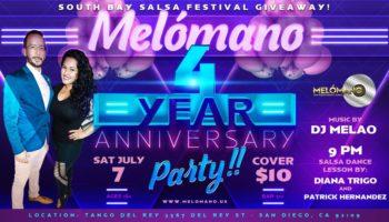 Melómano 4 Year Anniversary!!