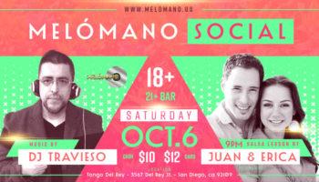 Melómano Social – October 6th!