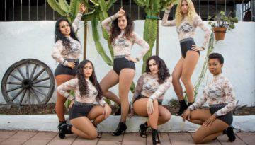 Melómano Ladies Beginner Bachata Team