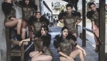 Melómano Ladies Intermediate Bachata Team