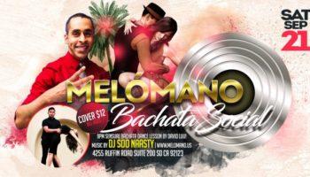 Melómano Bachata Social with DJ Soo Naasty! 9/21