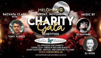 Melómano Salsa and Bachata Charity Gala for HTF! 11/9!